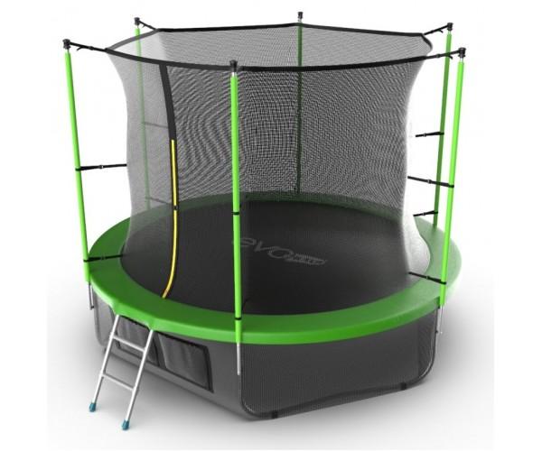 Батут Evo Jump Internal 10ft (Green) + нижняя сеть
