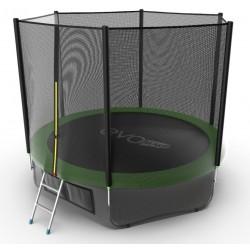 Батут Evo Jump External 10ft (Green) + нижняя сеть