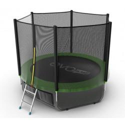 Батут Evo Jump External 8ft (Green) + нижняя сеть