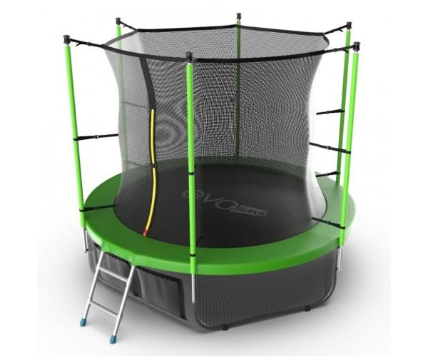 Батут Evo Jump Internal 8ft (Green) + нижняя сеть