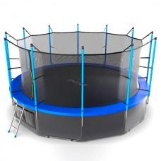 Батут Evo Jump Internal 16ft (blue/green) + нижняя сеть