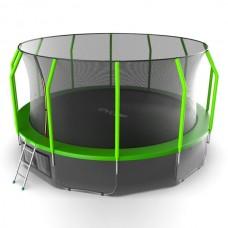 Батут Evo Jump Cosmo 16ft (Green) + нижняя сеть